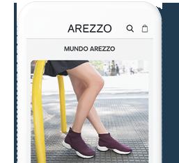 App Arezzo | Receba notícias e lançamentos em primeira mão
