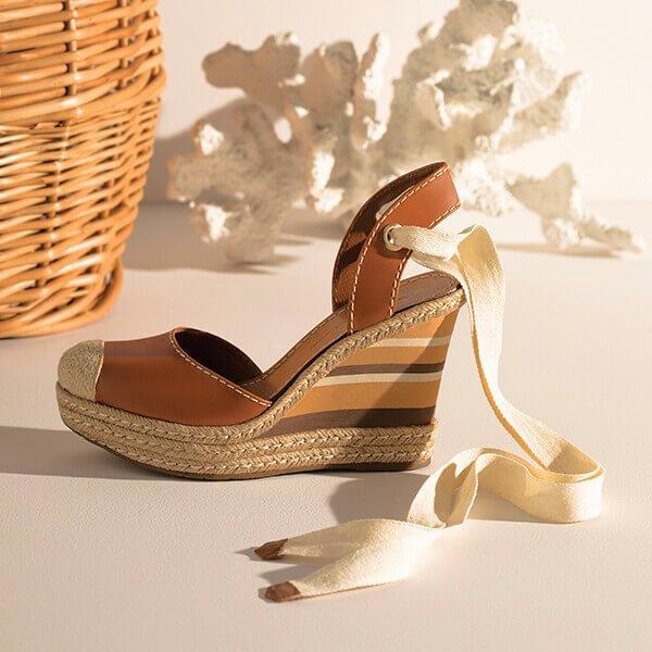 par de sandália