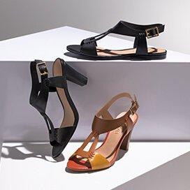 e7f4a94a1 A mistura perfeita dos tons terrosos surge nas sandálias e rasteiras com  inspiração étnica. Combine com as bolsas que trazem esta mesma proposta, ...