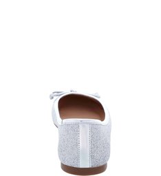 Sapatilha Glam Silver