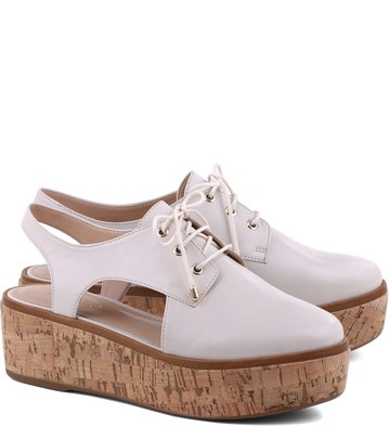 Oxford Cork Recortes Off-White