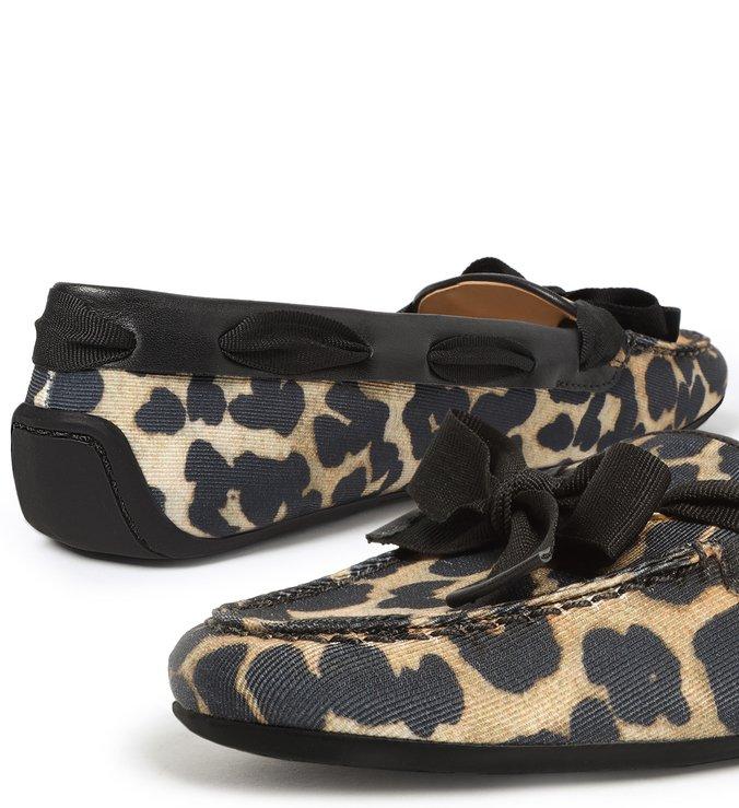 Mocassim Animal Print Leopard Francesca