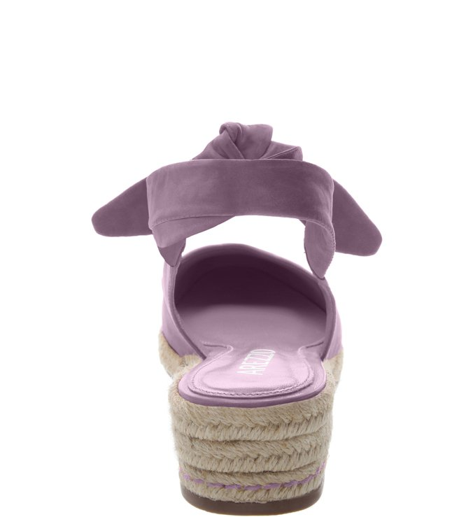Espadrille Baixa Nobuck Alice Fun Lilac