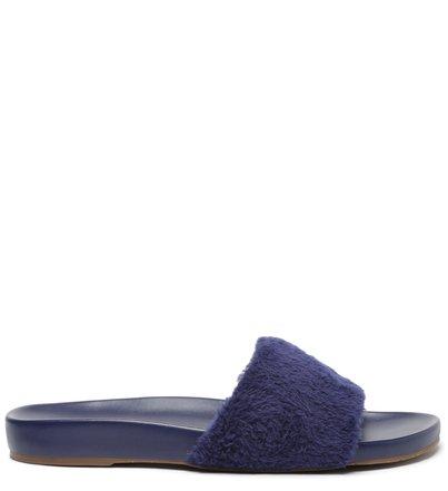 Chinelo Slide Azul Marinho Pelos Home