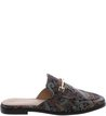 Mule Flat Retrô Jacquard Little Metal