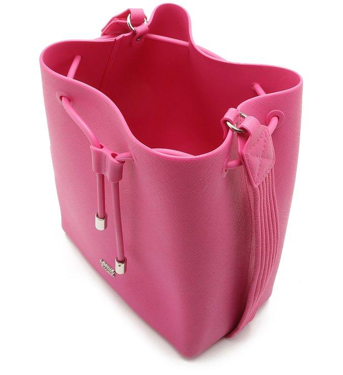 Bolsa Tiracolo Caramella Média Alça Gorgurão Summer Pink