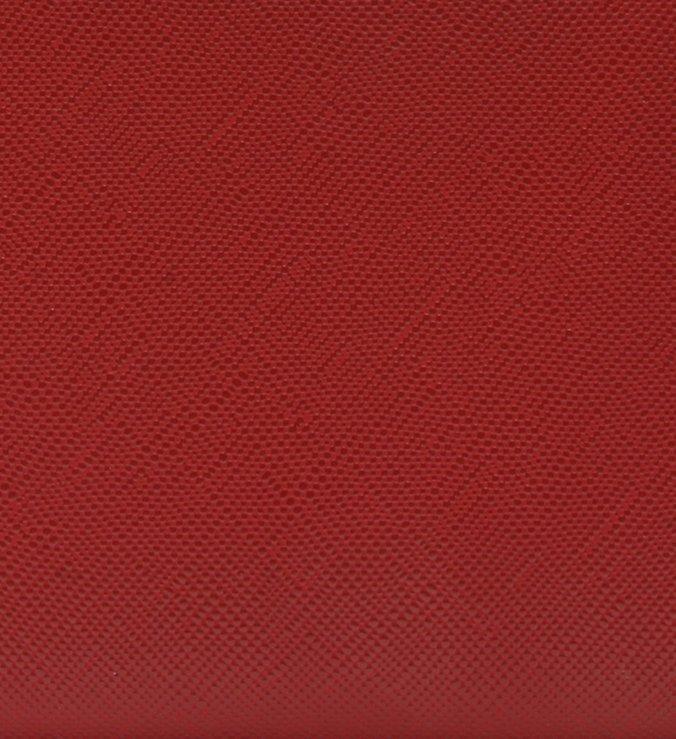 Carteira de Couro Basic Giorno Royal Red