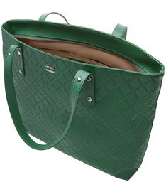 Bolsa Shopping New Matelassê Aline Grande Lush Green