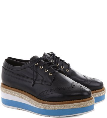 Oxford Plataforma Color Preto
