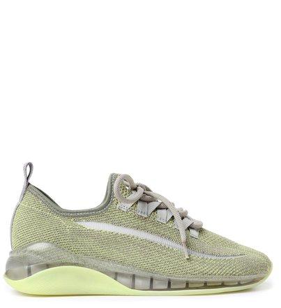 Tênis Verde Knit Esportivo