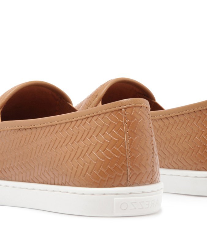 Tênis Slip On Trama Natural Wood