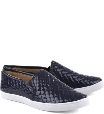 Slip-on Matelassê Verniz Sailor