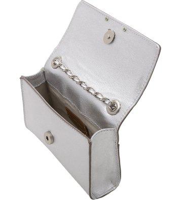 Bolsa Clutch Auguri Prata