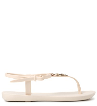 Rasteira Off-White Corrente Brizza