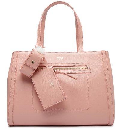Bolsa Shopping Rosa Grande Donna