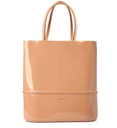 Bolsa Shopping Bege Tina Grande Brizza