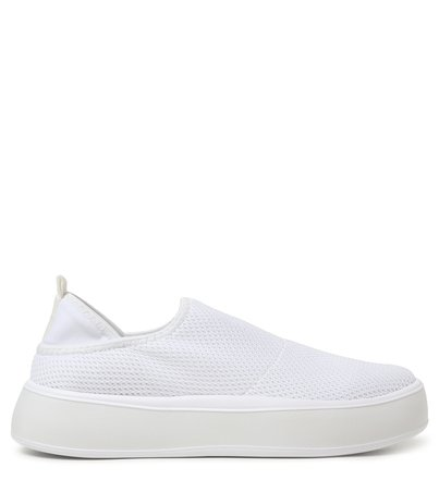 Slip On Branco ZZ Now Knit Sola Alta