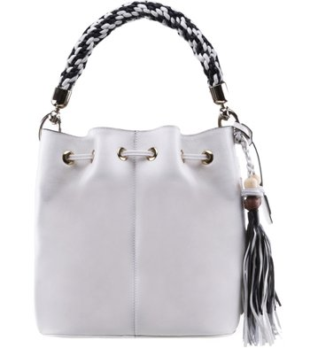 Bolsa Bucket Brigitte Off-White