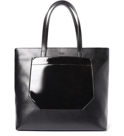 Bolsa Shopping Preta Diana Grande