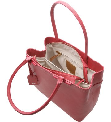 Bolsa Satchel Auguri Grande Personalizável Dusty Blush