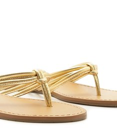 Chinelo Tiras Bombadas New Golden