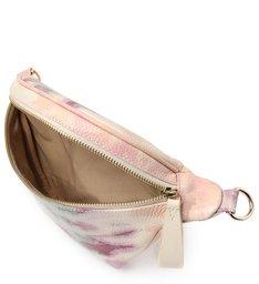 Pochete Tie Dye Pequena de Couro