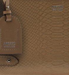 Bolsa Couro Tiracolo Pequena Amare New Sepia