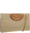 Bolsa Clutch Multi Baunei Natural Palha