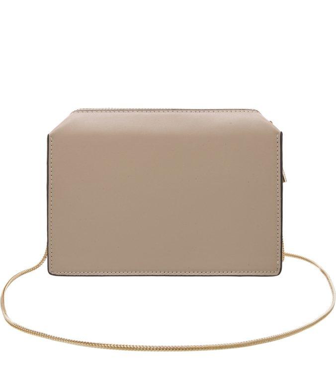Bolsa Tiracolo Pequena Light Cream