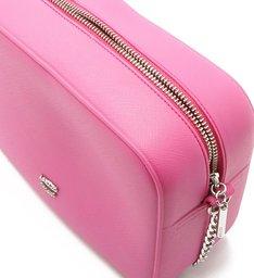 Bolsa Tiracolo Pequena Cantos Arredondados Summer Pink