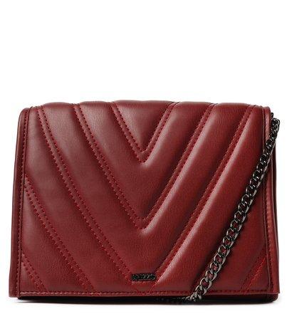 Bolsa Tiracolo Pequena Matelassê Vermelha
