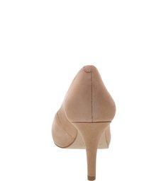 Peep-toe Nobuck Nude-Rose