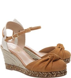 Espadrille Drapeado Savannah Natural