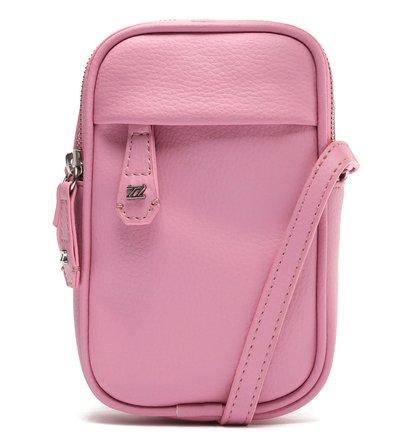 Mini Bolsa Rosa Tina Porta-Celular