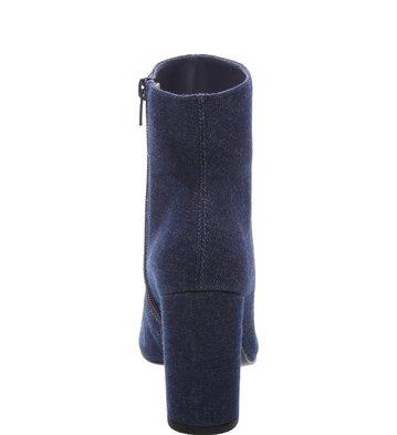 Bota Cano Médio Blue Jeans
