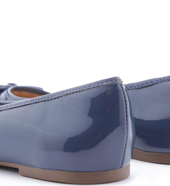 Sapatilha Verniz Azul Navy Blue