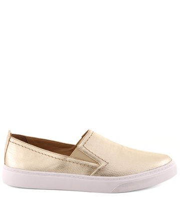Slip-on Metalizado Ouro