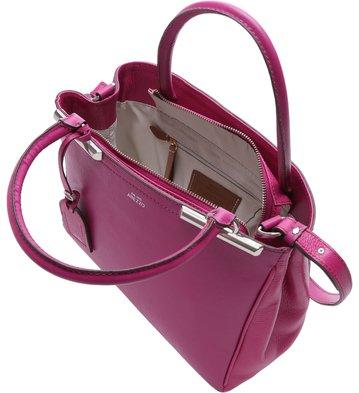 Bolsa Couro Tote Auguri Lady Pink