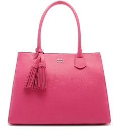 Bolsa Shopping Milena Grande Pink Absolut