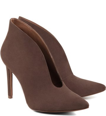 Ankle Boot Recorte Bege