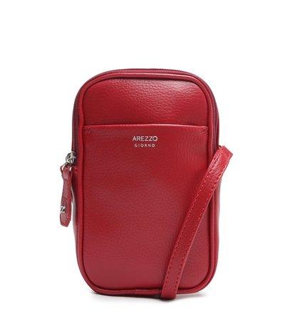 Mini Bolsa Vermelha Tina Porta-Celular