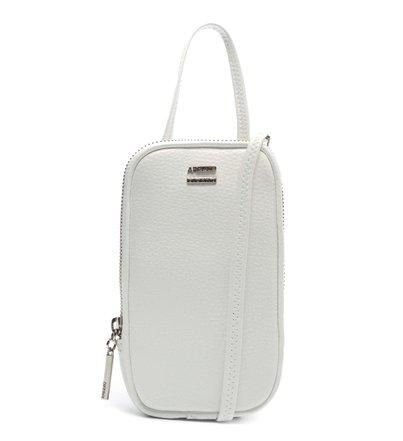 Mini Bolsa Porta-Celular Branca Valentina