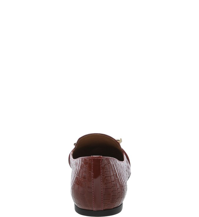 Sapatilha Croco Nó Berry