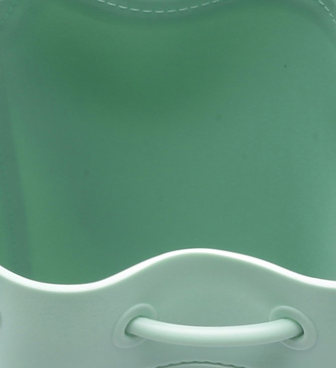 PANTONE   Bolsa Bucket Média Verde Fosca