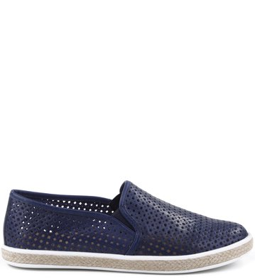 Slip-on Vazados Navy