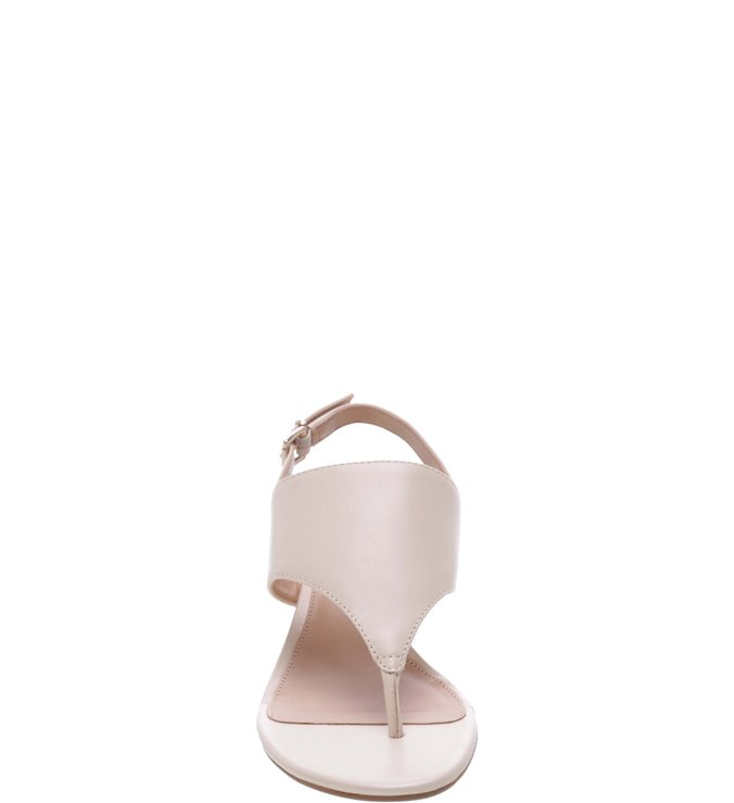 Sandália Salto Artesania Off White