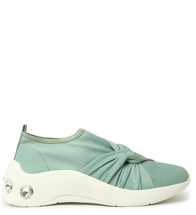 Tênis Slip On Verde ZZ Fun Glam