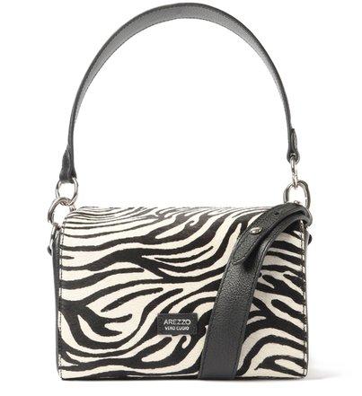 Tiracolo Animal Print Pelo Gisele Média Zebra