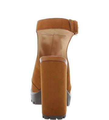 Sandal Boot Nobuck Combat Savannah Scotch