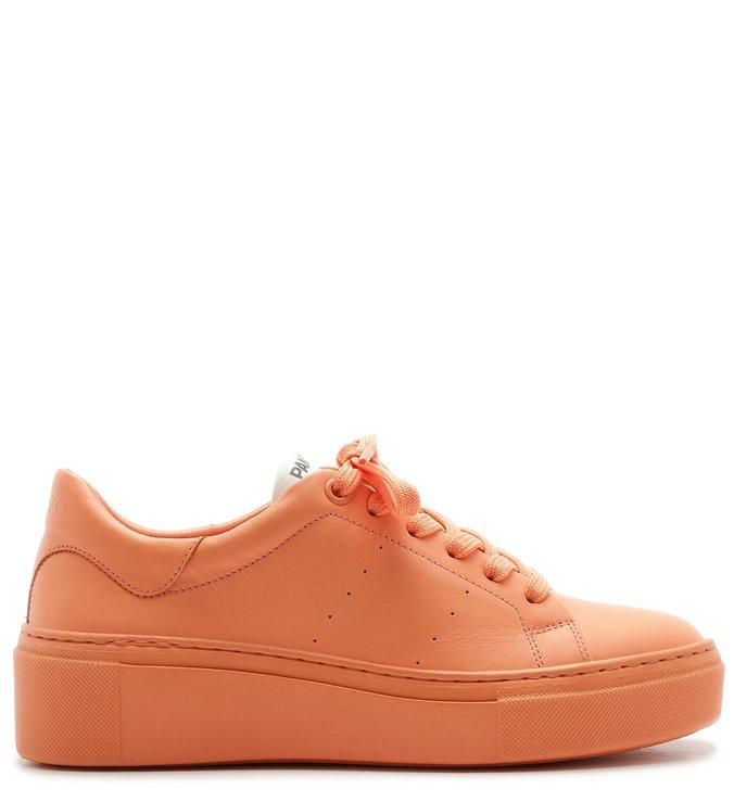 PANTONE   Tênis Couro Feminino Total Color Fresh Peach